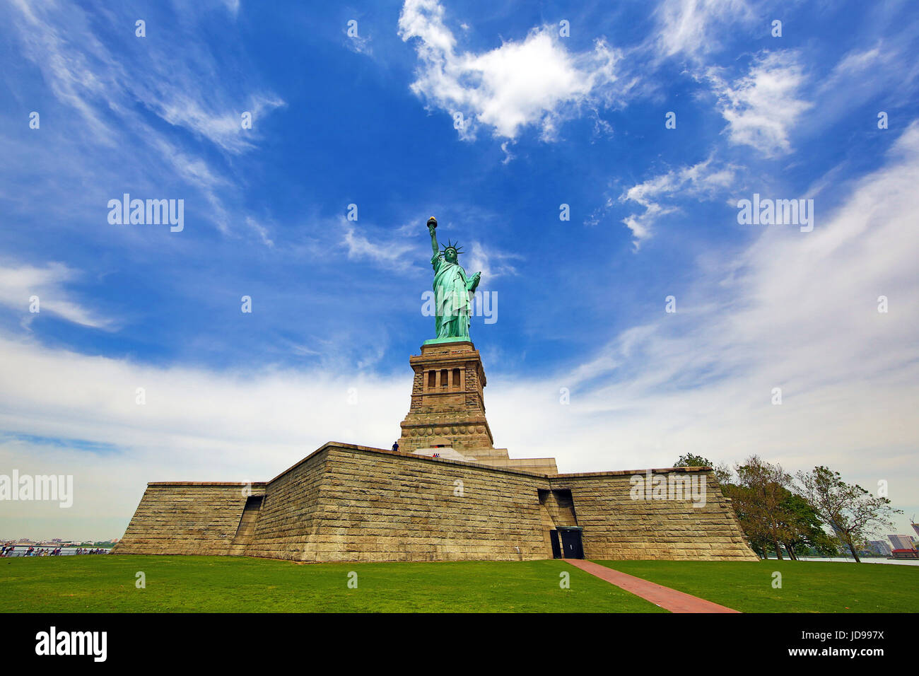 The Statue of Liberty, New York City, New York, USA - Stock Image