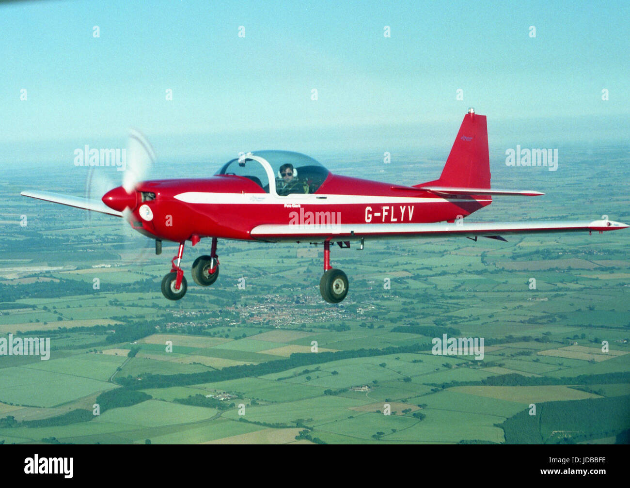 Firefly plane - Stock Image