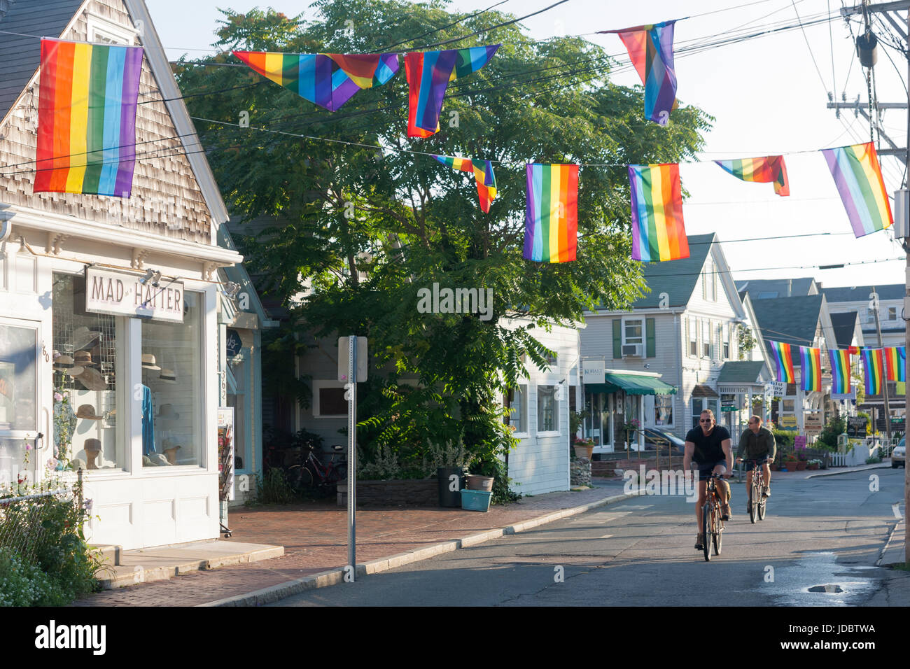 Commercial Street Shops Stores And Restaurants In Provincetown