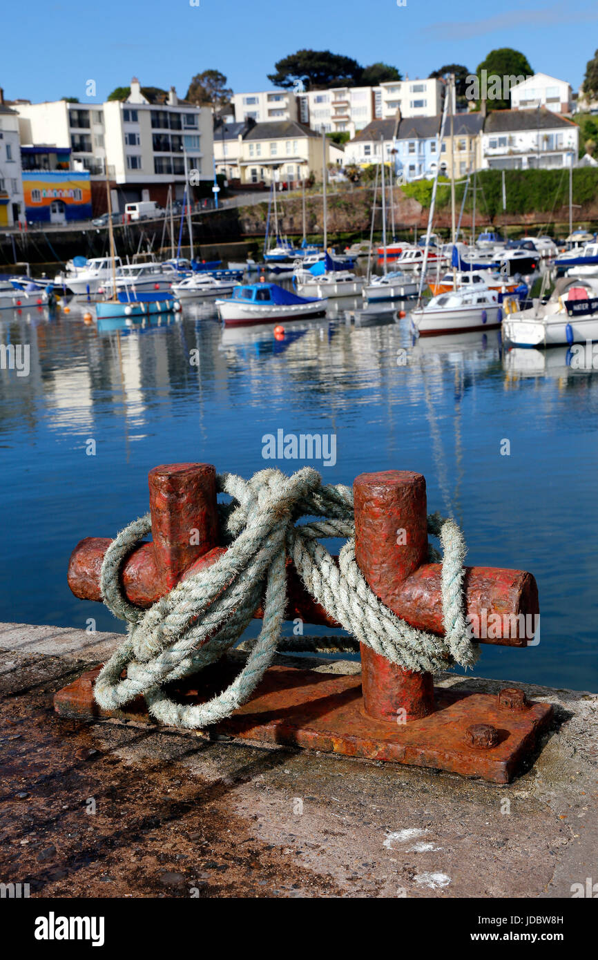 watercraft in Devon,A boat or other vessel that travels on water. village, villages, watercraft, water-craft, watercrafts, - Stock Image