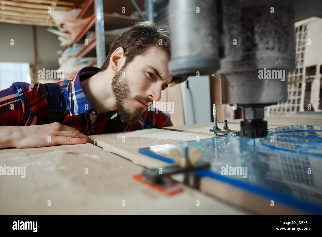 Factory worker - Stock Image