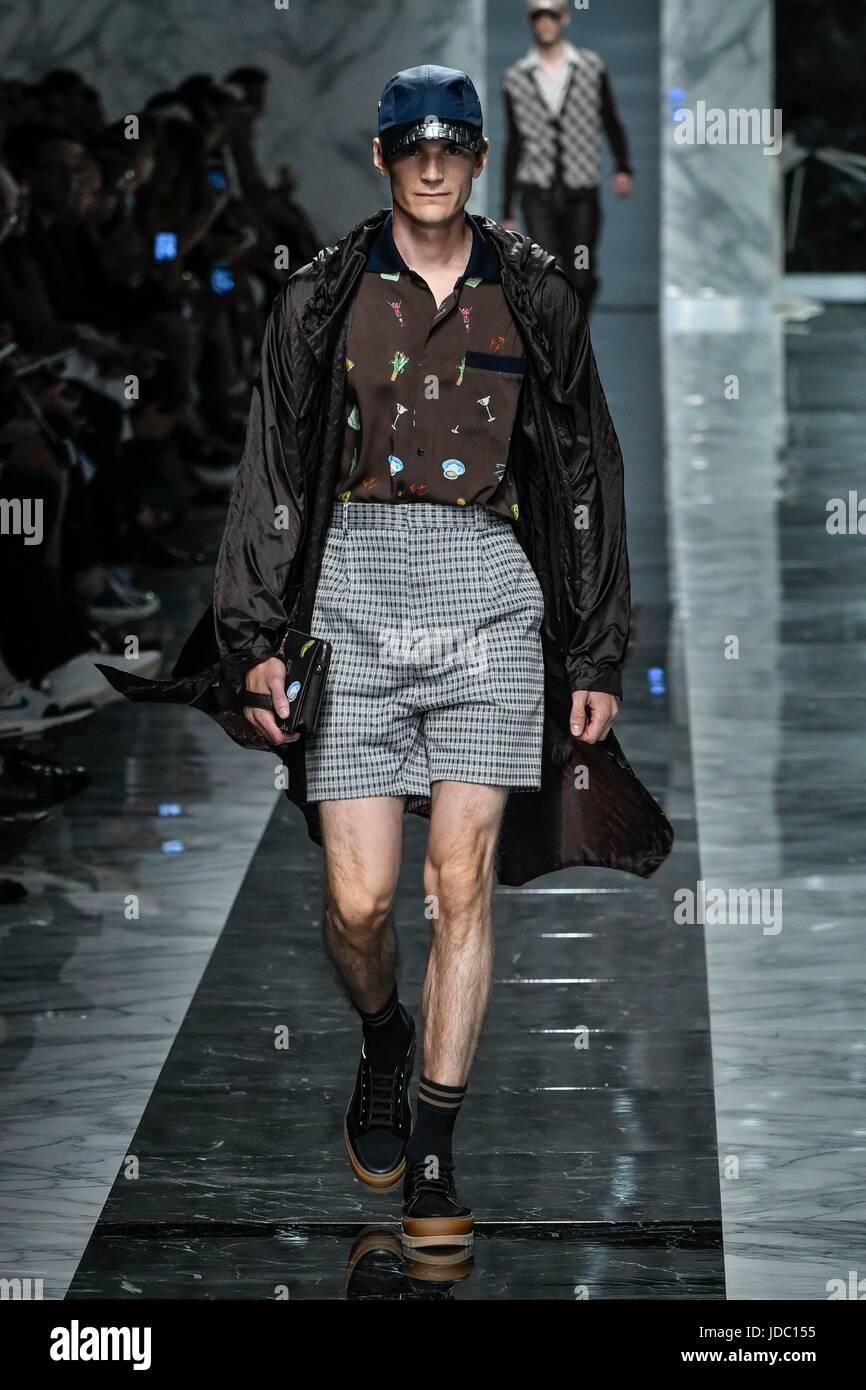 a32de800f9 Milano Men s Fashion Week spring summer 2018. Milano Fashion Uomo ...