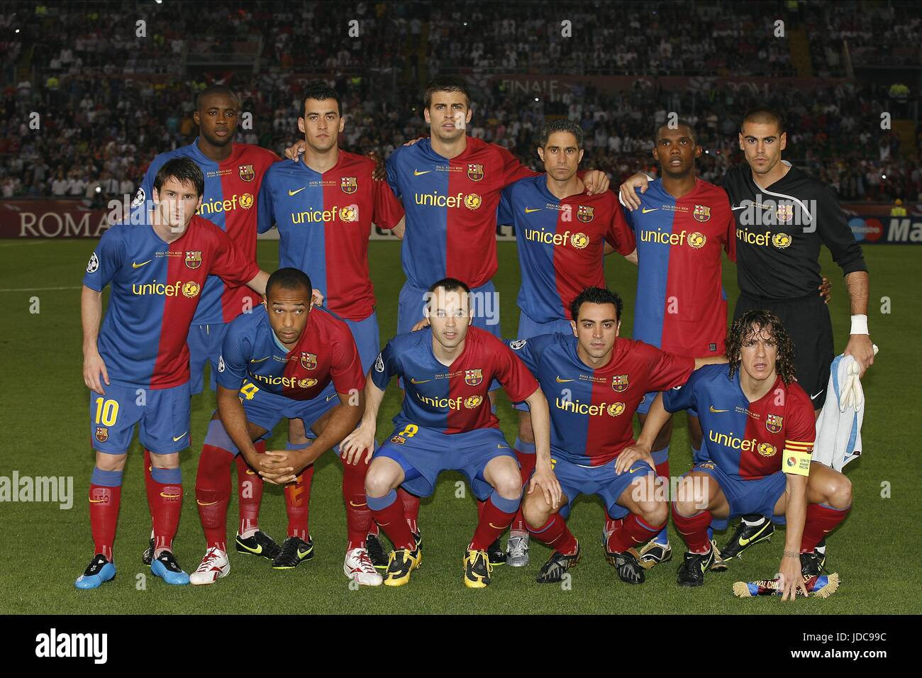 Barcelona Team Group High Resolution Stock Photography And Images Alamy