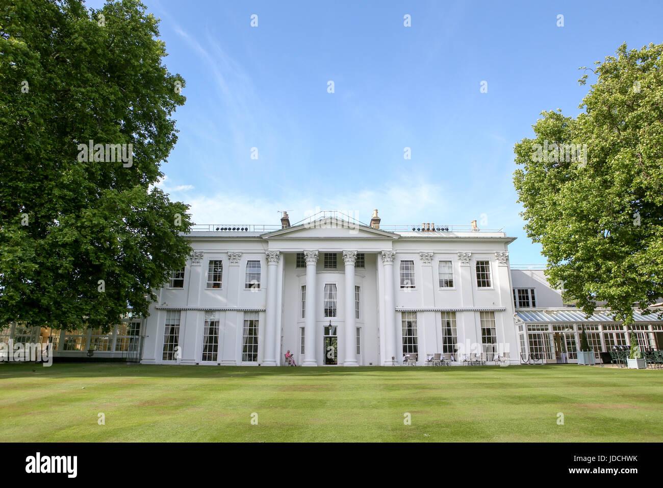 The Hurlingham Private Members Club, Fulham, London - Stock Image