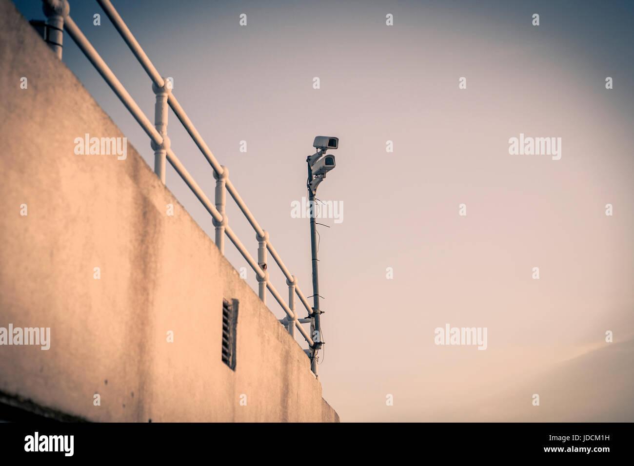 CCTV Security Surveillance Camera - Stock Image