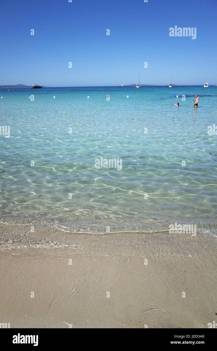 Porto Rotondo, Sardinia. The 'Ira' beach - Stock Image
