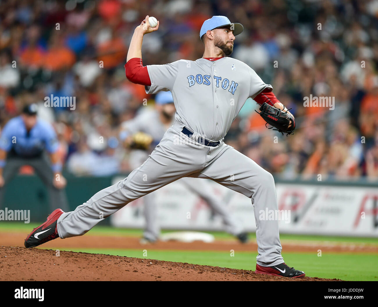 baa4ffbbb76 Boston Red Sox relief pitcher Matt Barnes (68) during a Major League  Baseball game between the Houston Astros and the Boston Red Sox at Minute  Maid ...