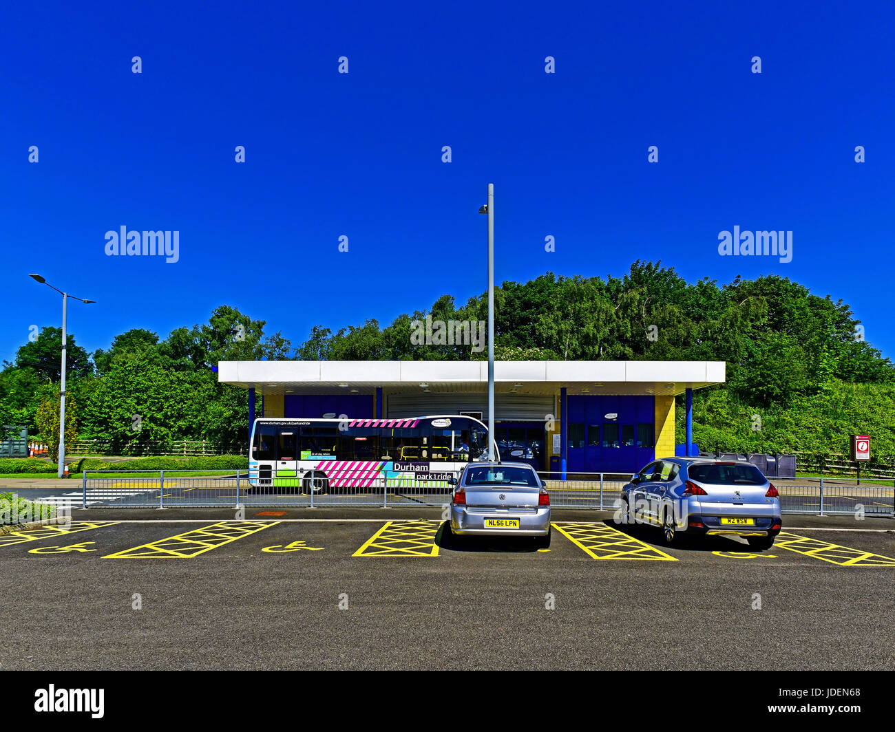 Durham City Park And Ride Bus Service Stock Photo 145997440 Alamy