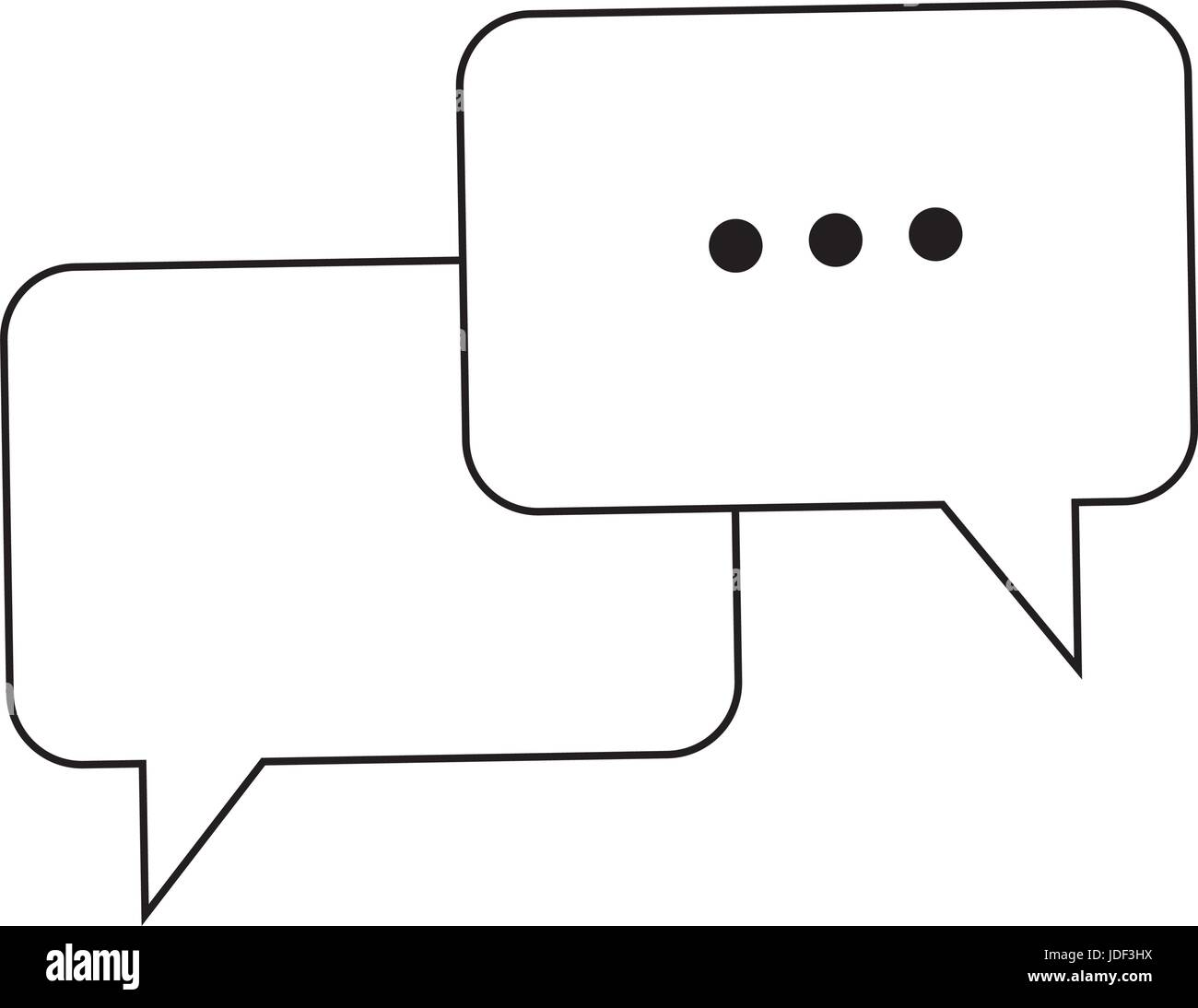 Bubble speech talk message communication web app stock vector art bubble speech talk message communication web app ccuart Images