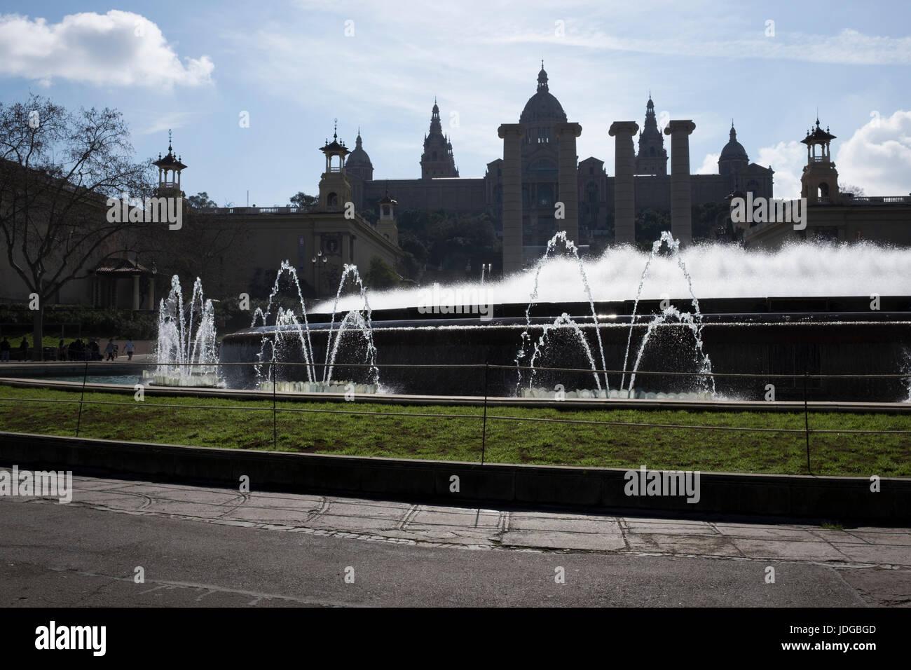 Barcelona Architecture Stock Photo