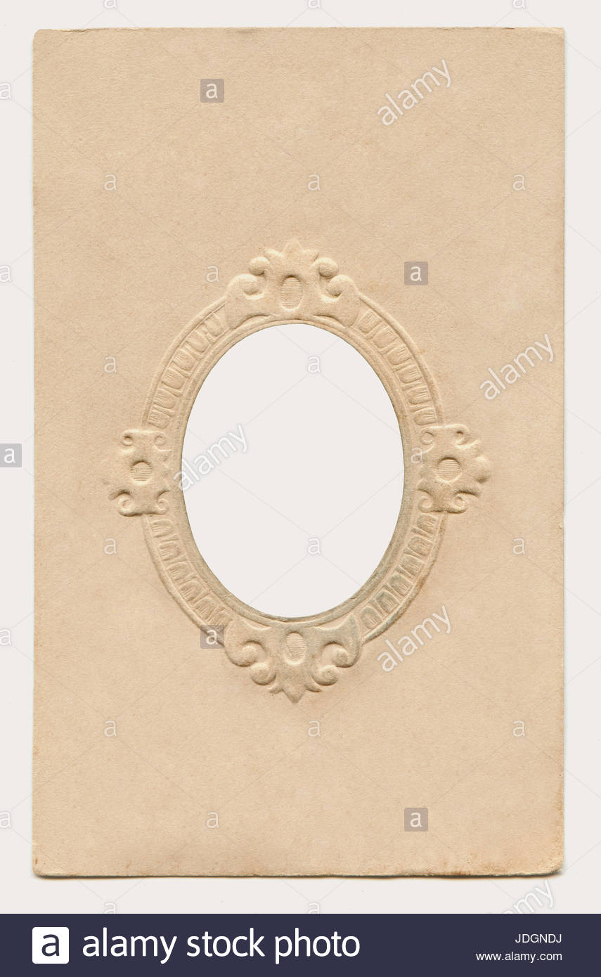 Antique cardboard picture frame Stock Photo: 146041550 - Alamy