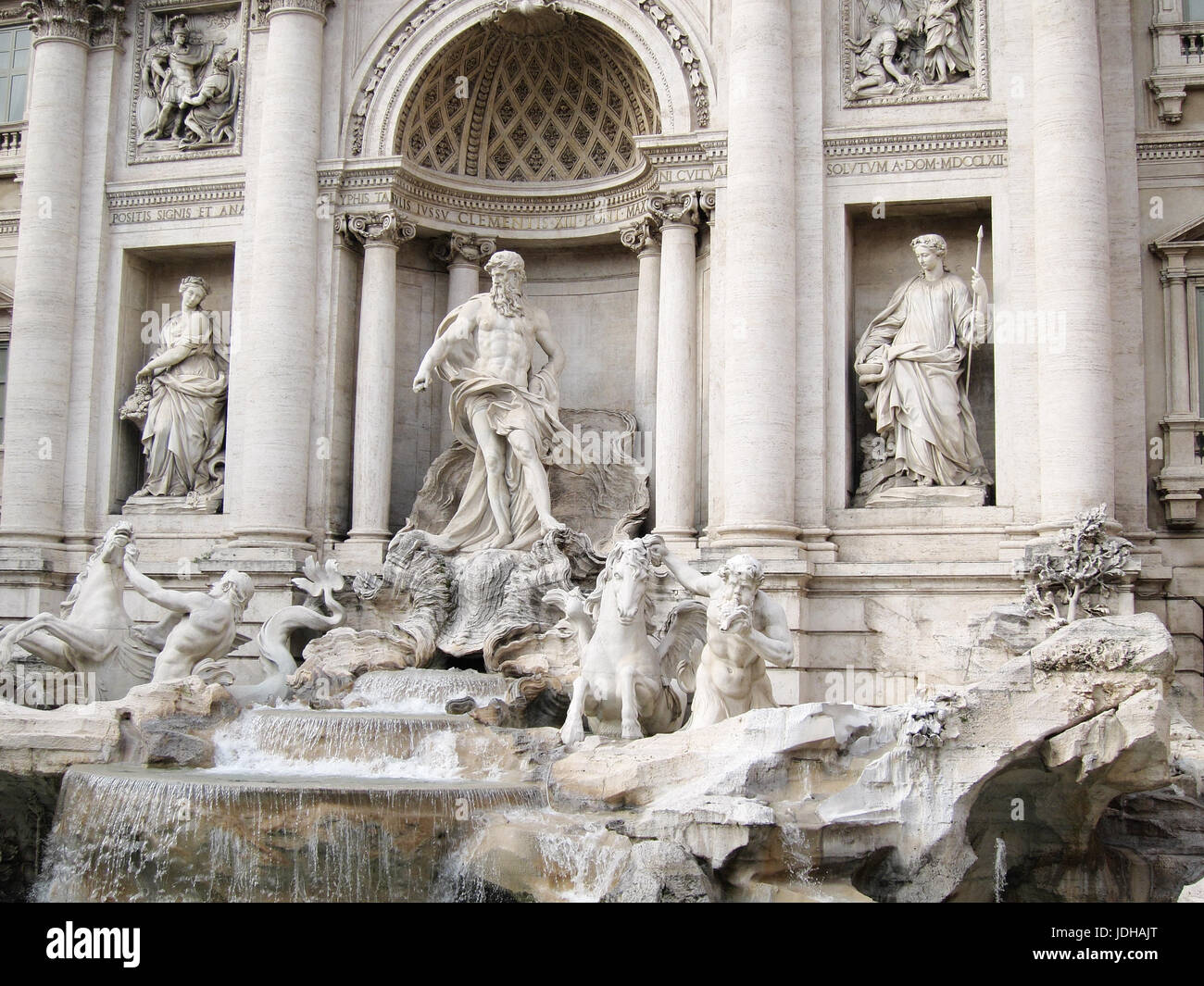 Trevi Fountain, Rome - Stock Image