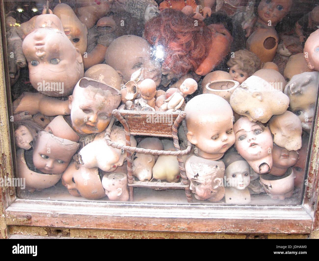 Dolls shop - Stock Image