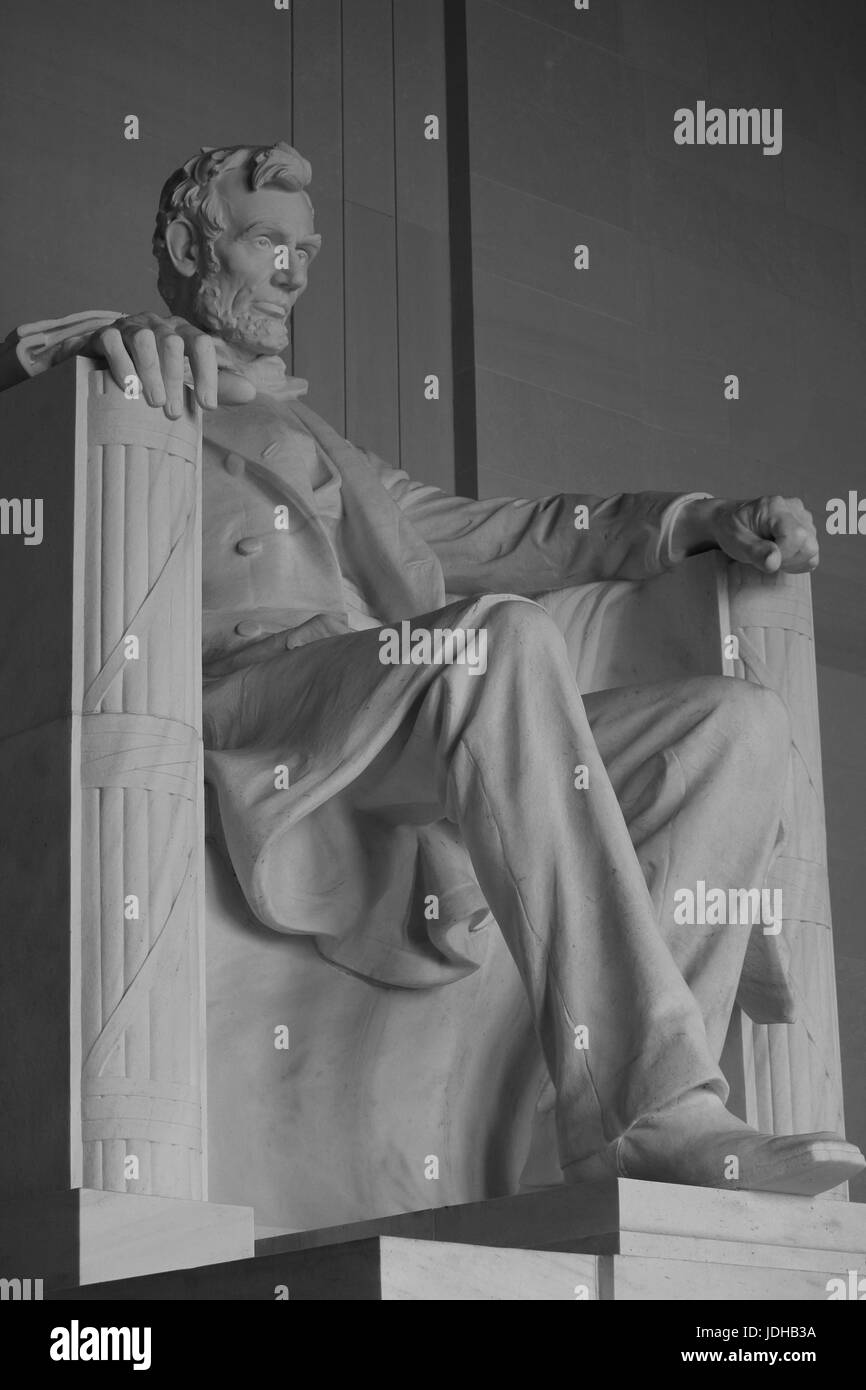 Abraham lincoln - Stock Image