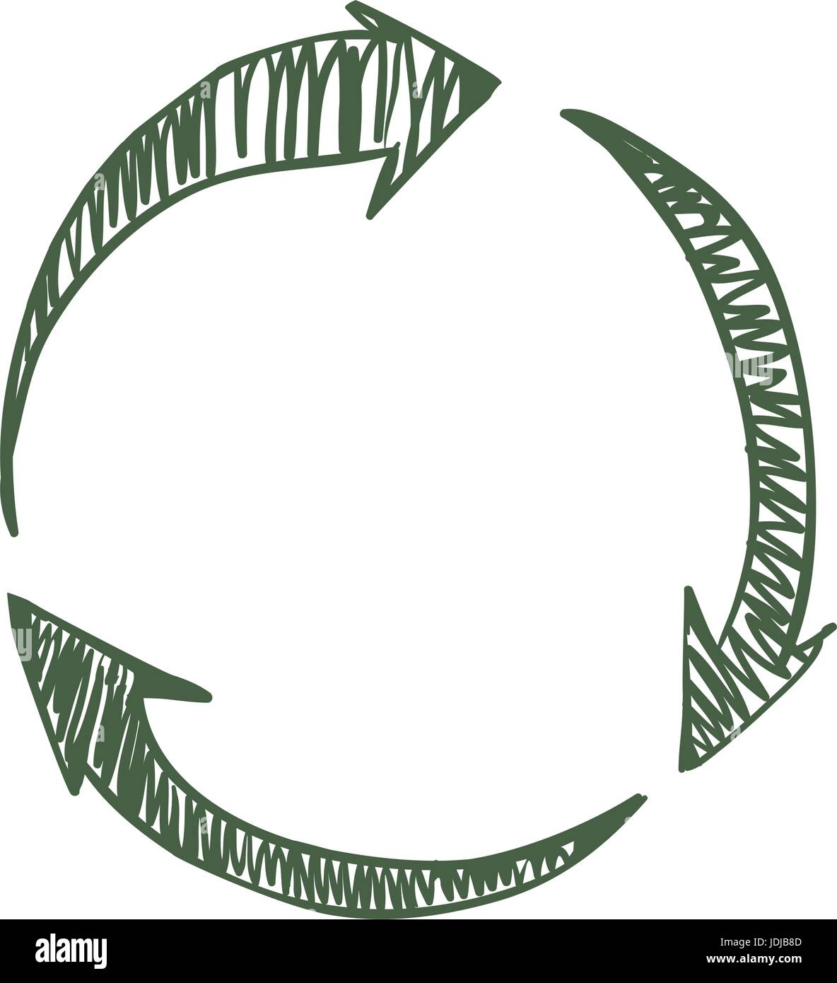 Reduce Reuse Recycle Stock Vector Images Alamy