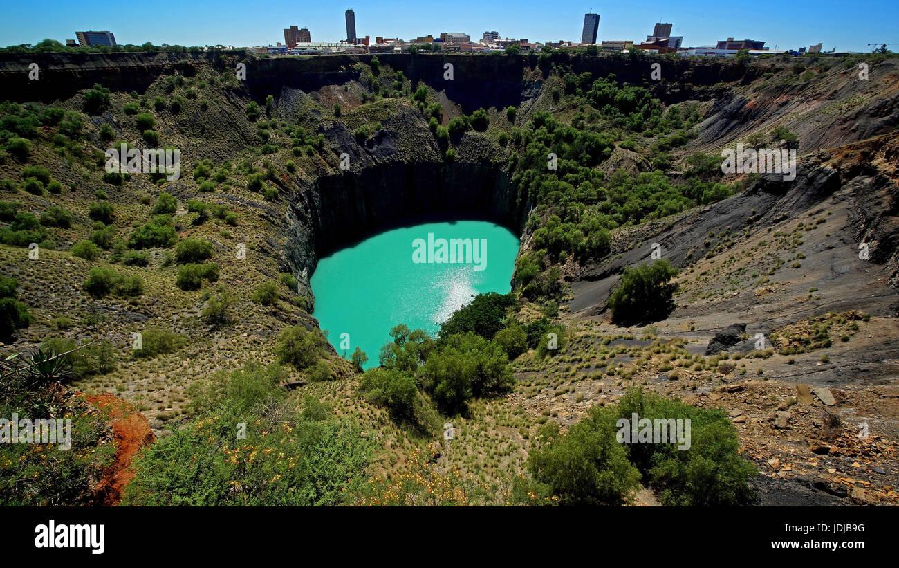 The Big Getting, South Africa, The Big Hole, Suedafrika - Stock Image
