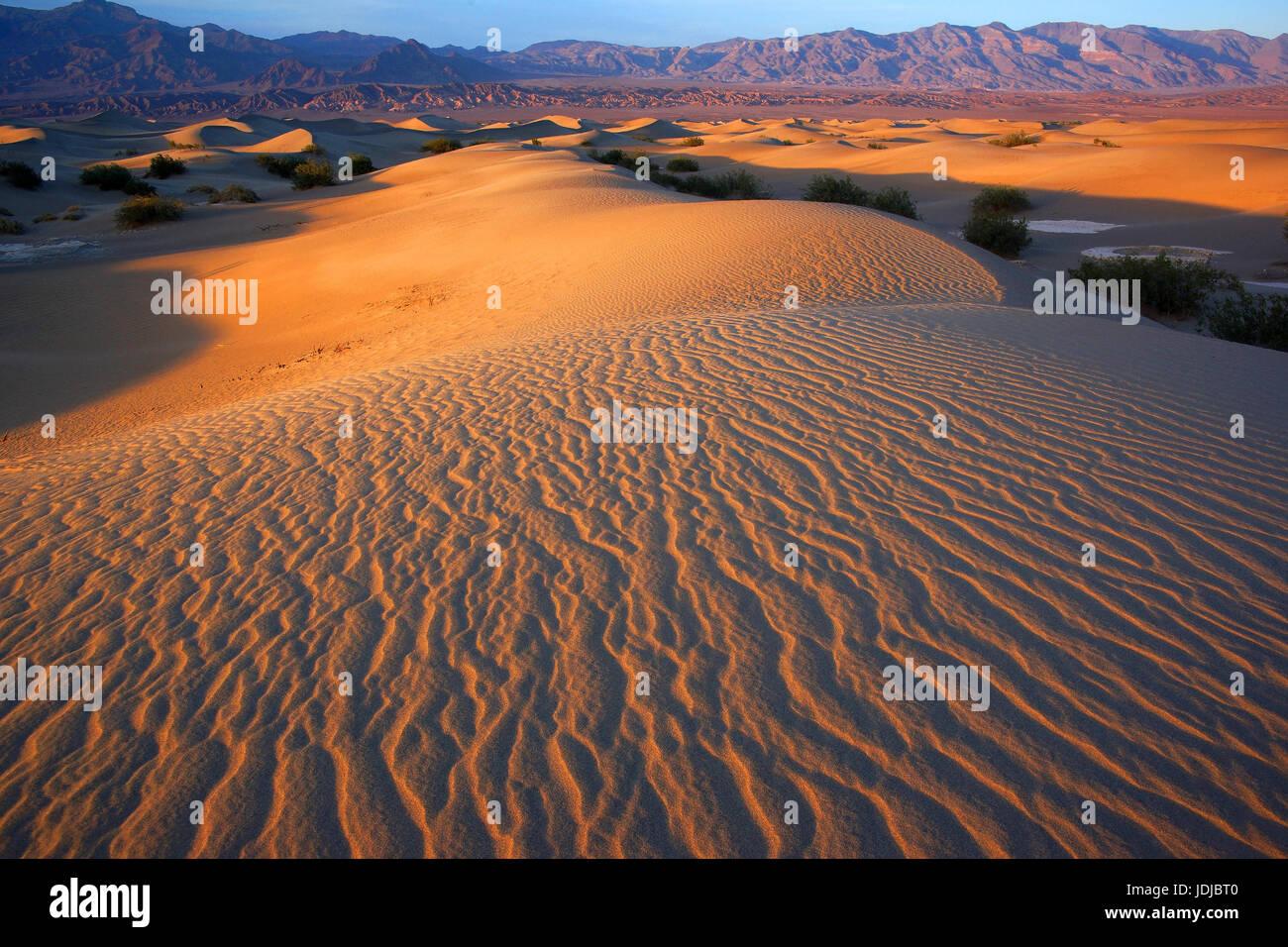 Dead Valley, California, the USA,                              , Kalifornien, USA - Stock Image