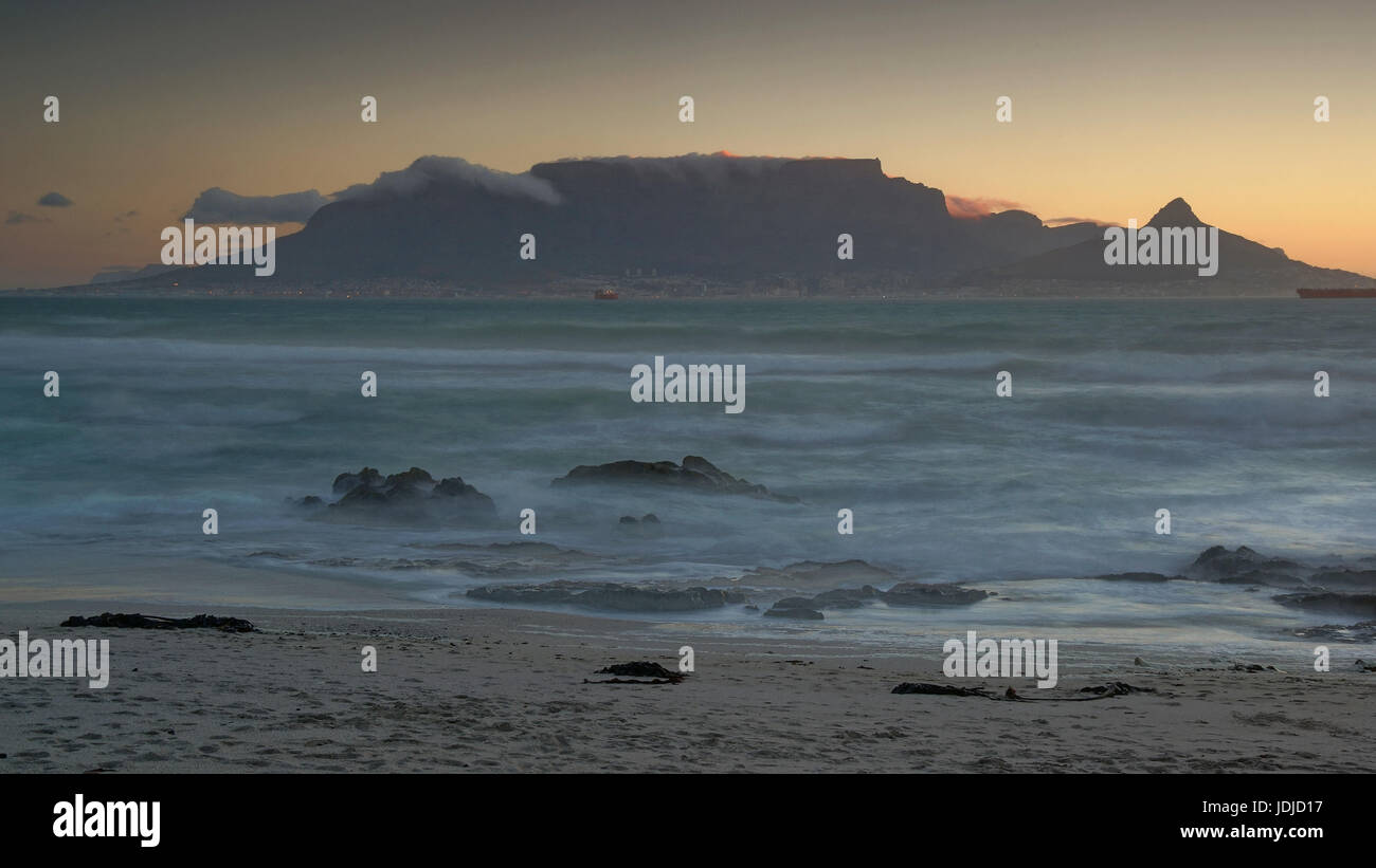 Capetown, mesa, Kapstadt, Tafelberg - Stock Image