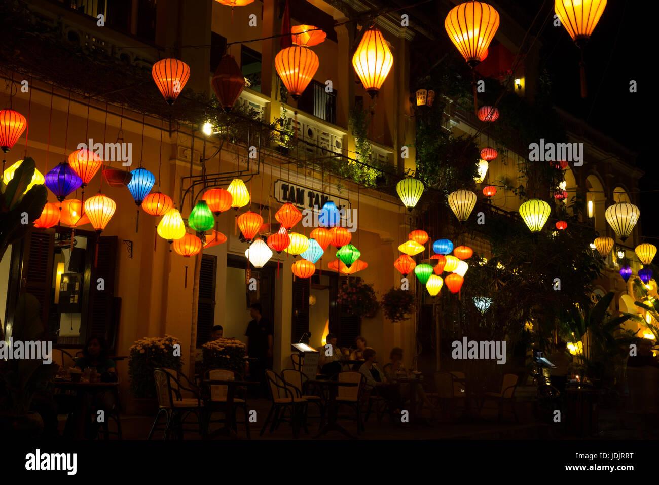 Hoi An Full Moon Lantern Festival Vietnam Stock Photo Alamy