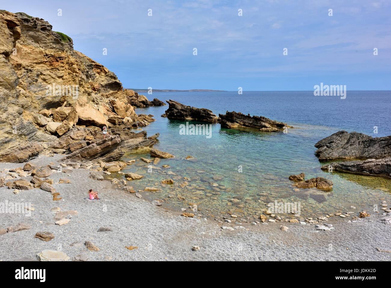 Menorca Spain Stock Photo