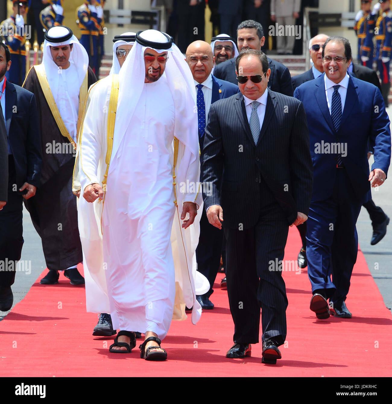 Egyptian President Abdel Fattah Sisi bids farewell