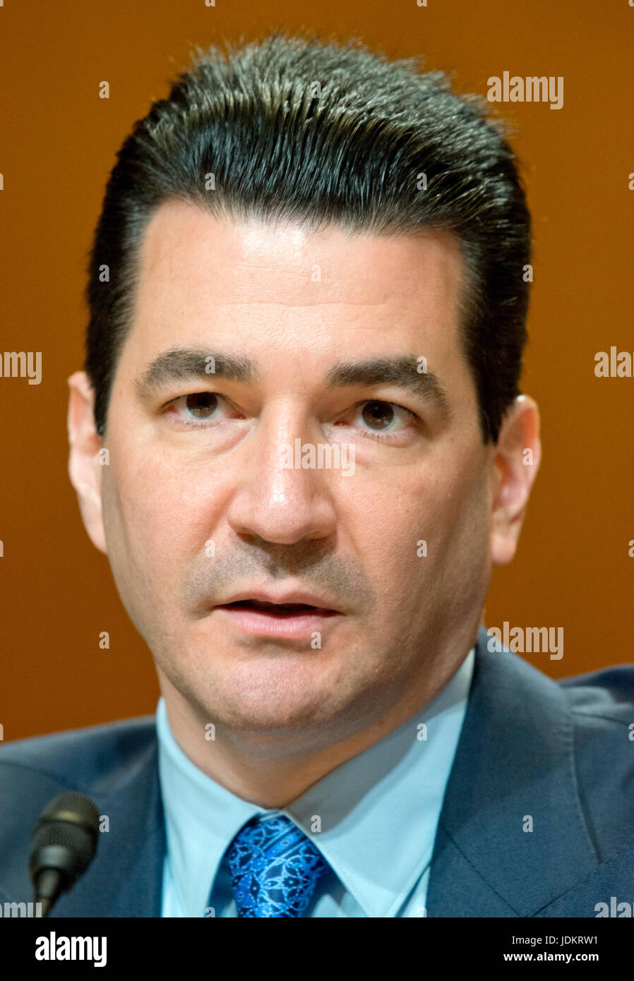 dr scott gottlieb md commissioner united states food and drug administration appears before the us senate committee on appropriations subcommittee on