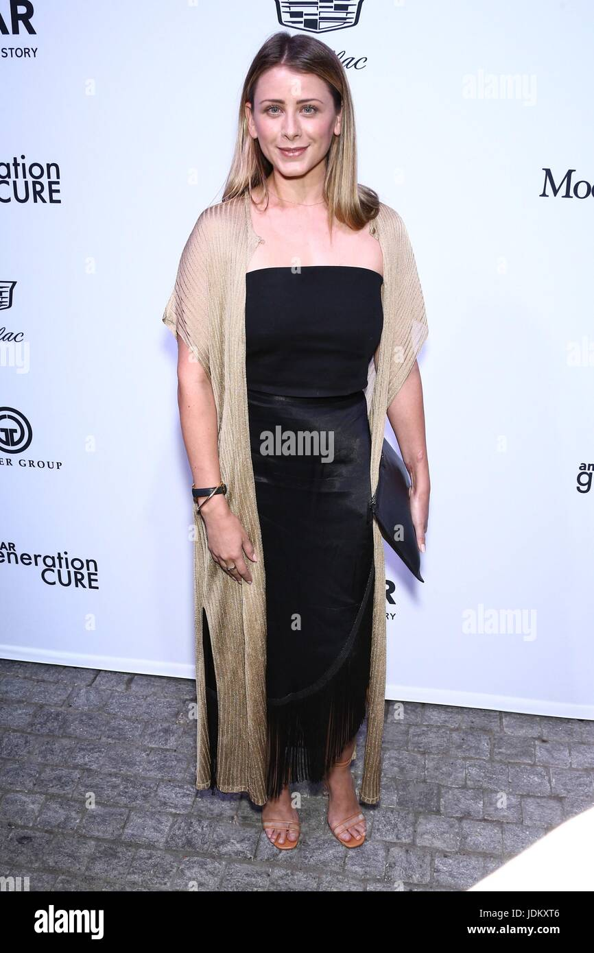 New York, NY, USA. 20th June, 2017. Lo Bosworth at arrivals for amfAR generationCURE Solstice Party, Mr. Purple - Stock Image