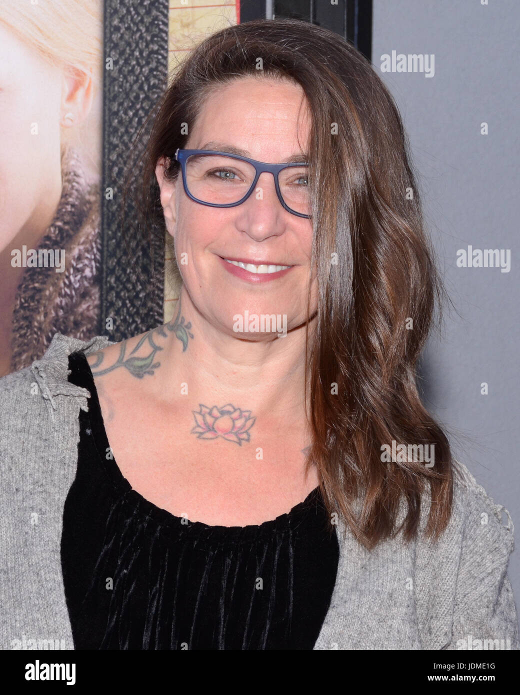 Valerie Stadler  attend opening night premiere Focus Features' 'The Book Henry' during 2017 Los Angeles - Stock Image