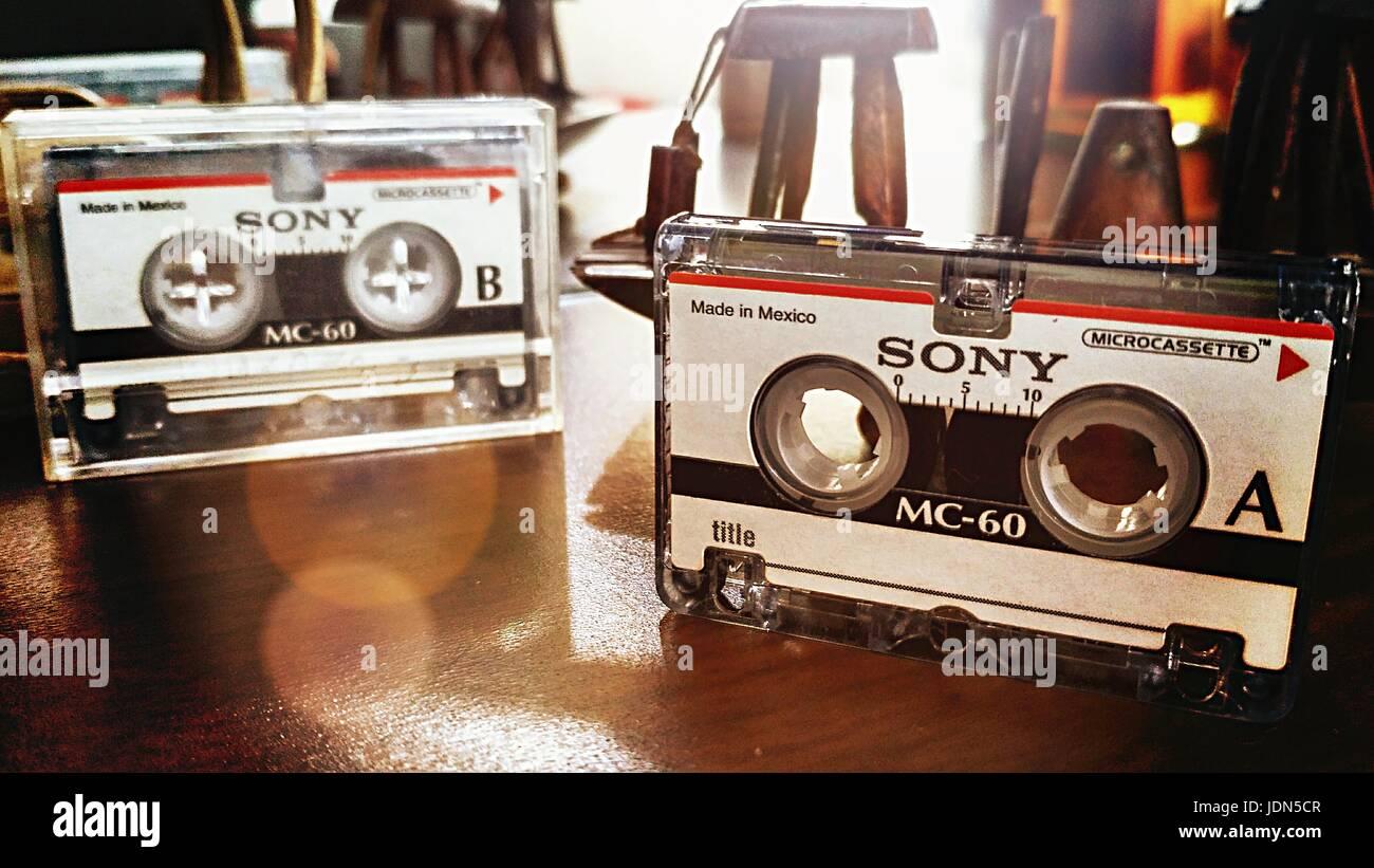 cassette - Stock Image