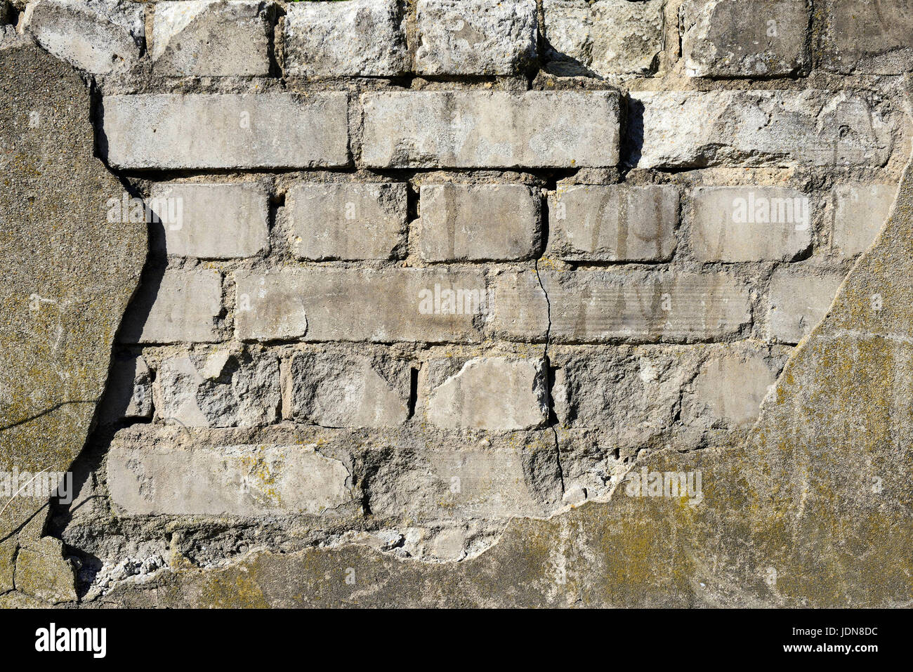 Old wall, Alte Mauer - Stock Image