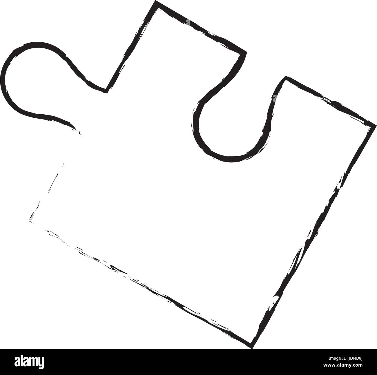 part of paper puzzles business concept layout - Stock Image