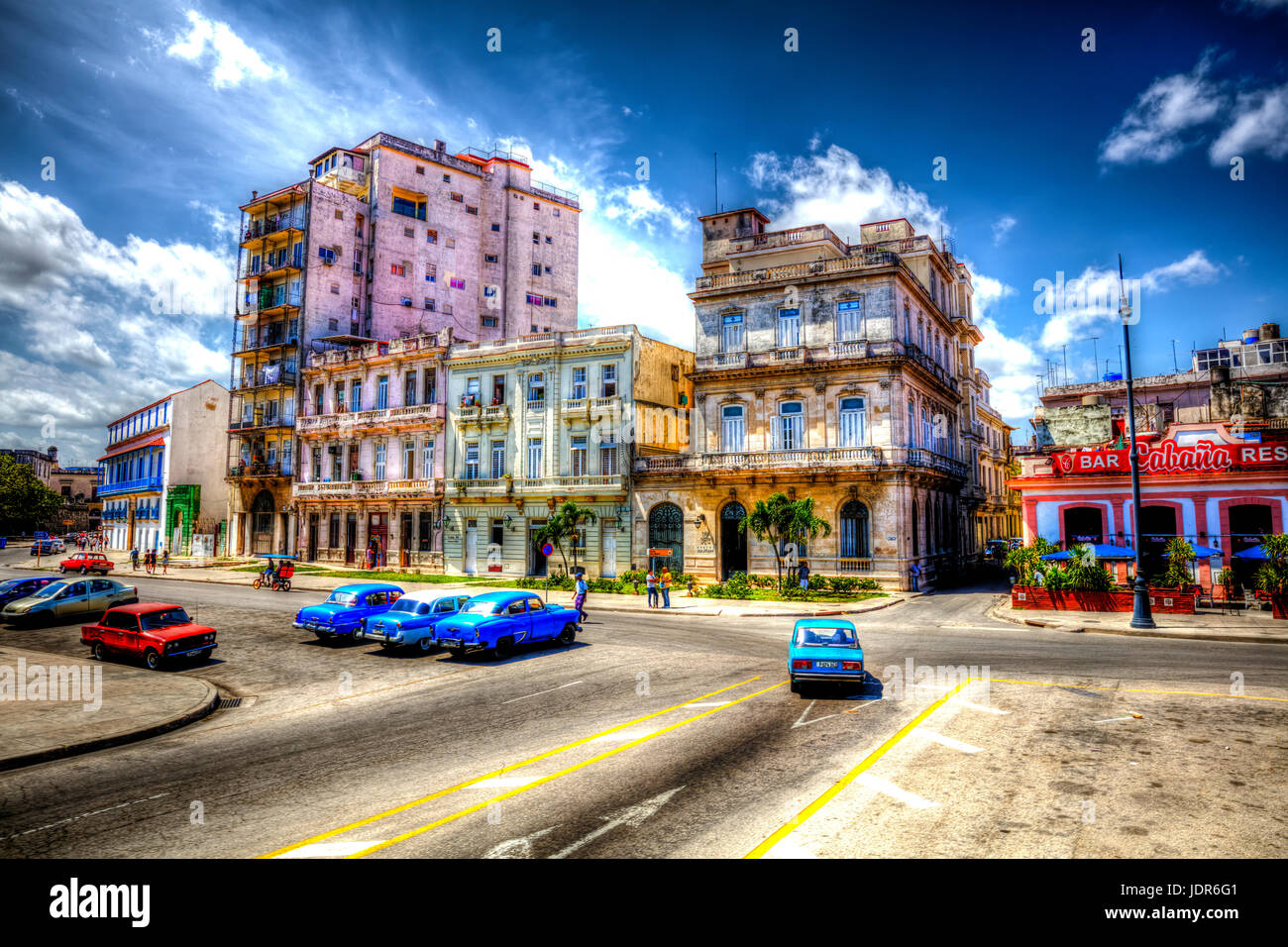Havana city, Havana cuba, Havana streets Cuba, Cuban city, Cuban cities, Havana Cuba, Havana, Cuba, old Havana, - Stock Image
