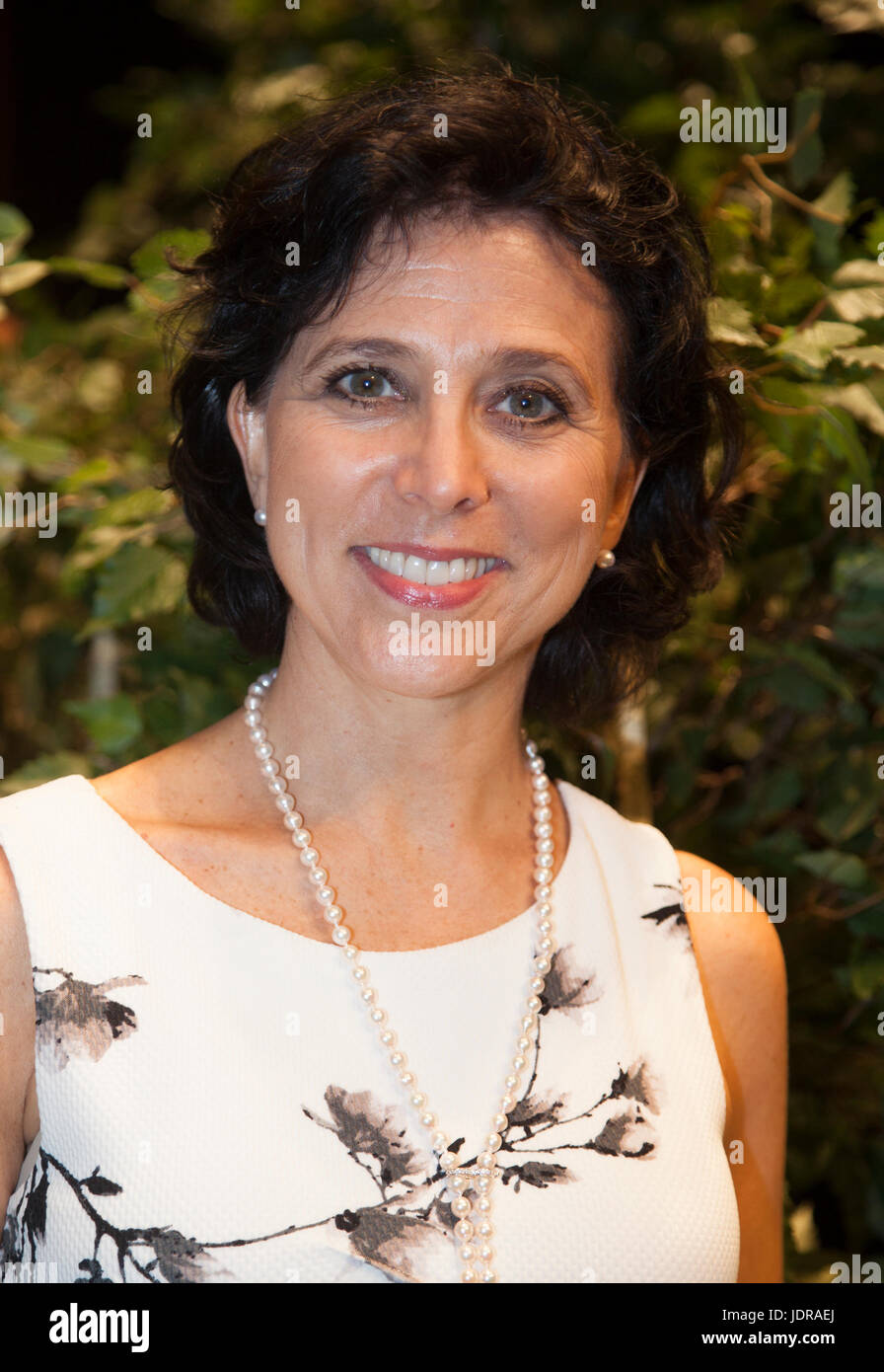 MADELEINE ONNE dancer of the Swedish Royal court and founder of Stockholm 59 degree north and from 2009 artistic - Stock Image