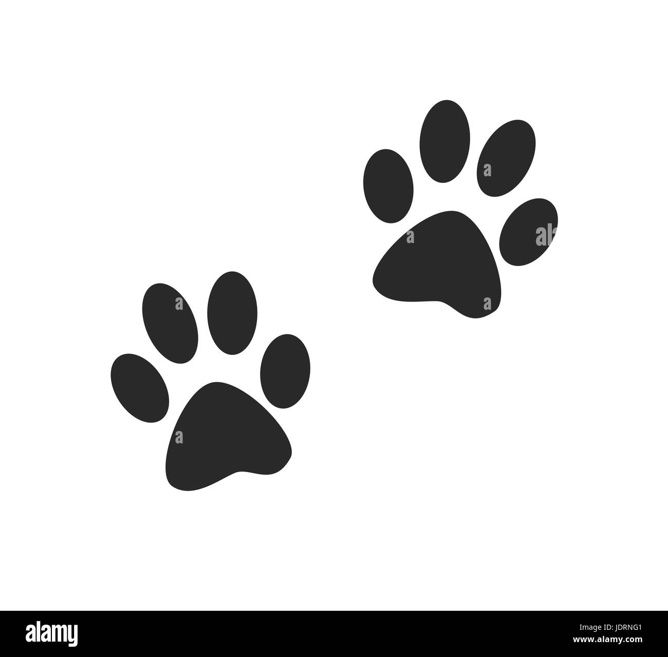 Cat Paw Print High Resolution Stock Photography And Images Alamy