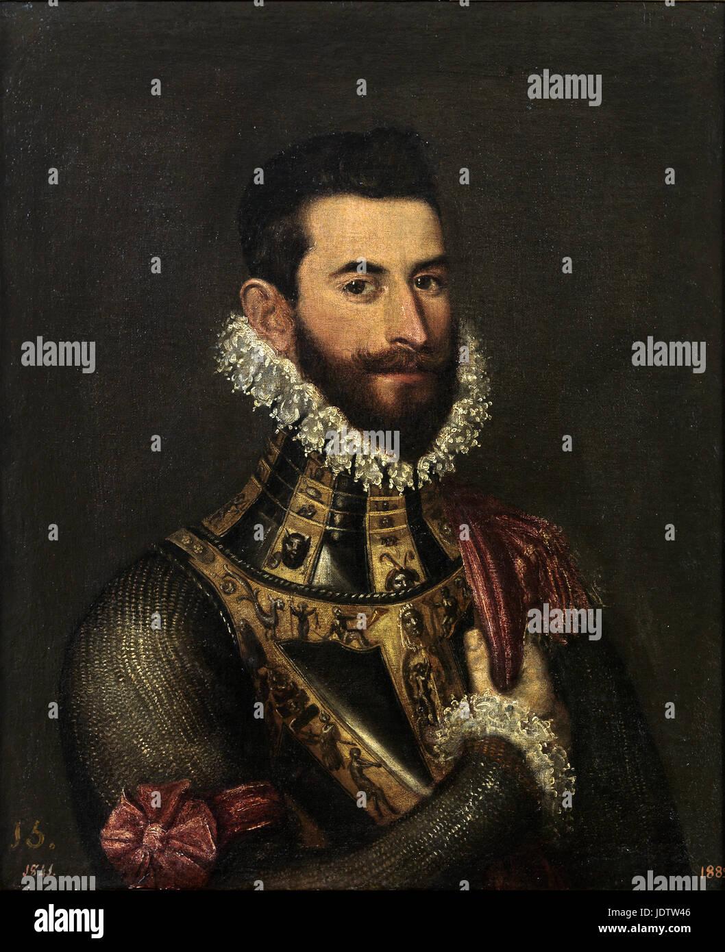 Jacopo Tintoretto - Pedro de Medici Stock Photo