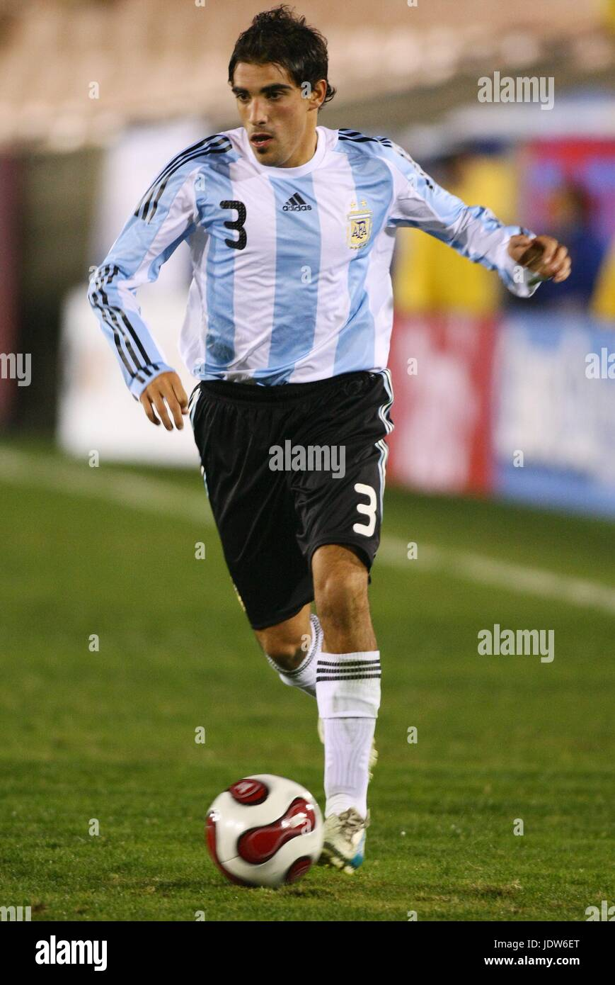 DAMIAN ESCUDERO ARGENTINA MEMORIAL COLISEUM LOS ANGELES USA 06 February 2008 - Stock Image
