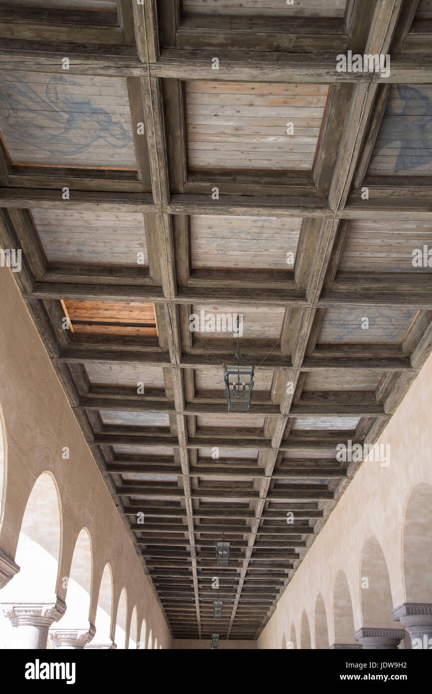 Ceiling at City Hall; Stockholm; Sweden Stock Photo