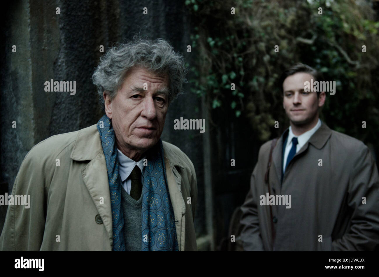 FINAL PORTRAIT (2017)  GEOFFREY RUSH  ARMIE HAMMER  STANLEY TUCCI (DIR)  OLIVE PRODUCTIONS/MOVIESTORE COLLECTION - Stock Image