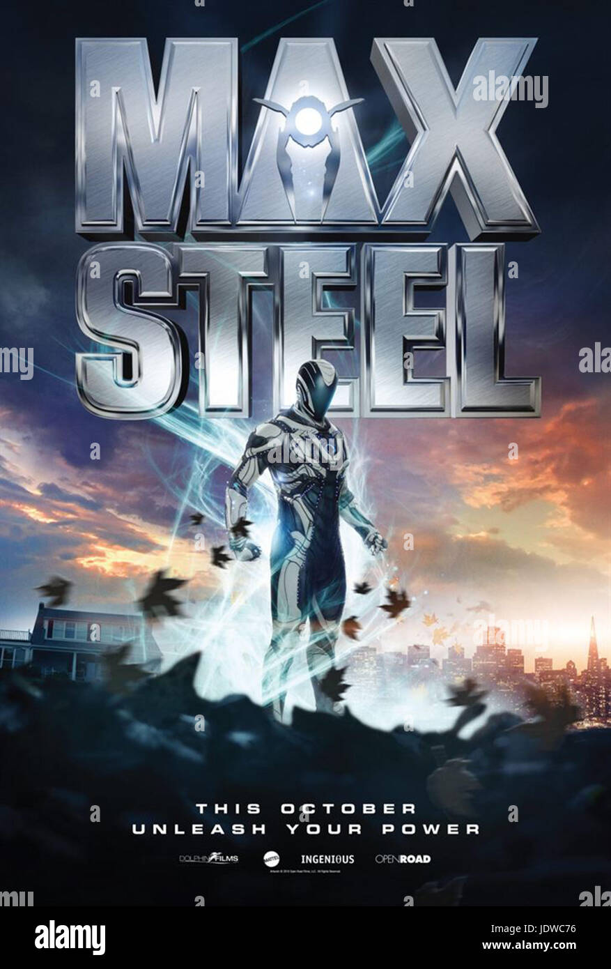 MAX STEEL (2016)  STEWART HENDLER (DIR)  OPEN ROAD FILMS/MOVIESTORE COLLECTION LTD - Stock Image