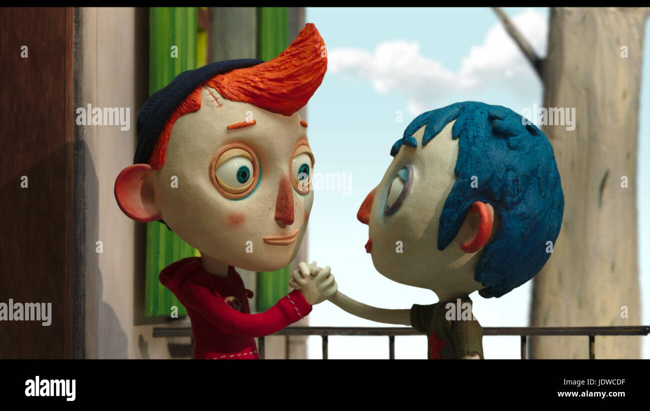 MY LIFE AS A COURGETTE (2016)  CLAUDE BARRAS (DIR)  RITA PRODUCTIONS/MOVIESTORE COLLECTION LTD - Stock Image