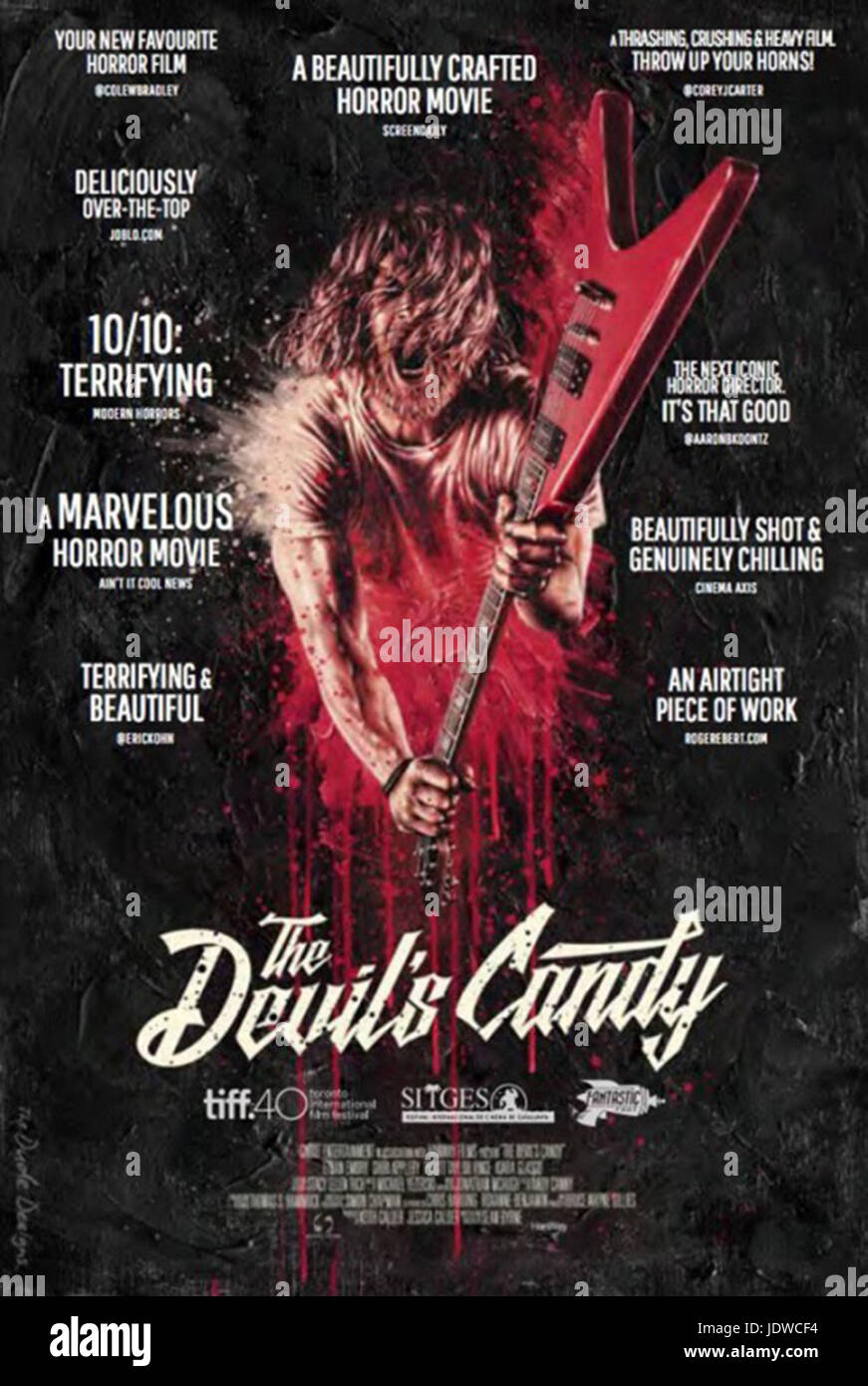 THE DEVIL'S CANDY (2015)  SEAN BYRNE (DIR)  SNOOT ENTERTAINMENT/MOVIESTORE COLLECTION LTD - Stock Image