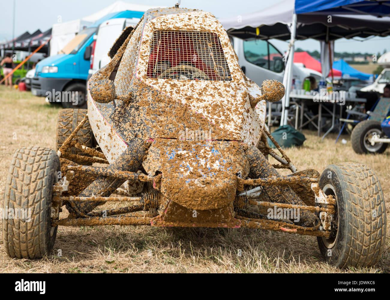 kart cross buggy car off road with mud stock photo. Black Bedroom Furniture Sets. Home Design Ideas