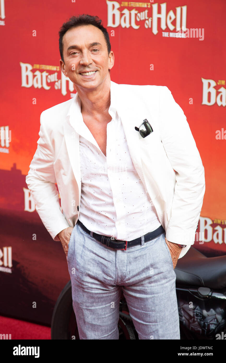 Bruno Tonioli at Bat Out of Hell - The Musical, Press Night at the London Coliseum - 20 June 2017 - Stock Image