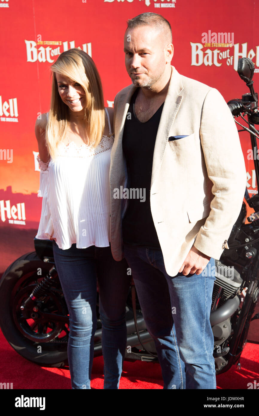 Liz McClarnon at Bat Out of Hell - The Musical, Press Night at the London Coliseum - 20 June 2017 - Stock Image