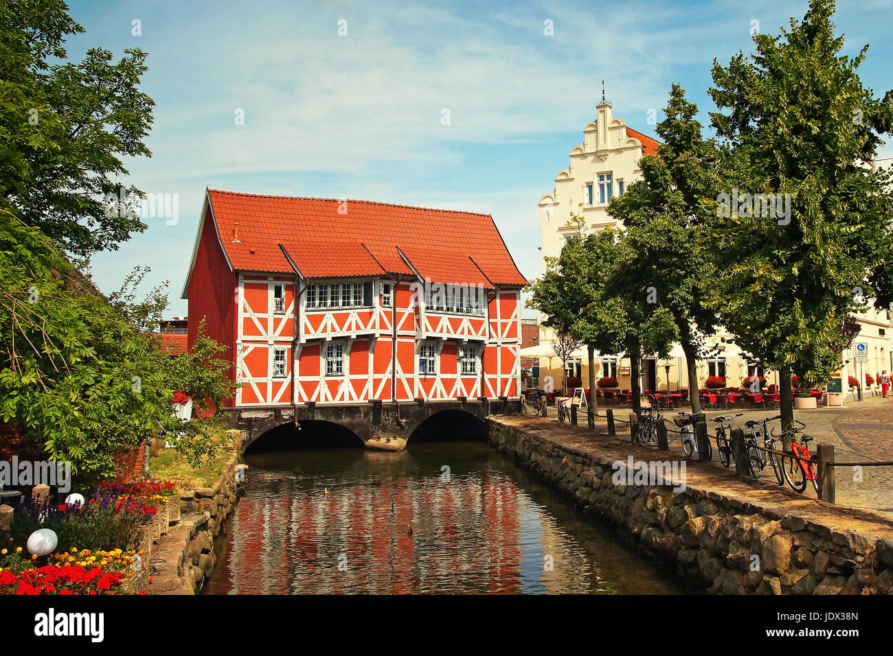 Hansestadt Wismar Deutschland / Hanseatic City Wismar Germany - Stock Image