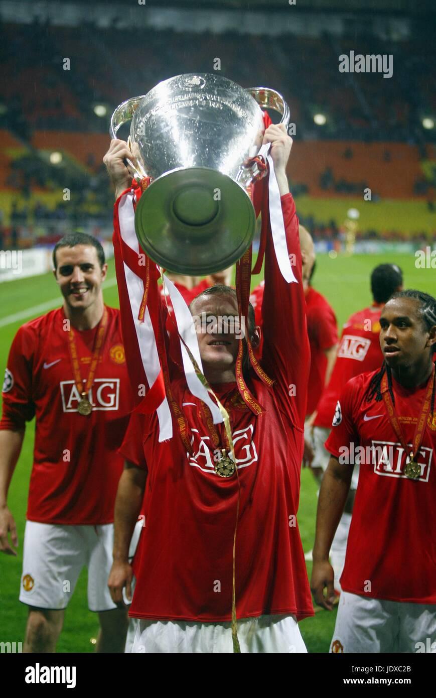 Wayne Rooney Manchester United Fc Champions League Final