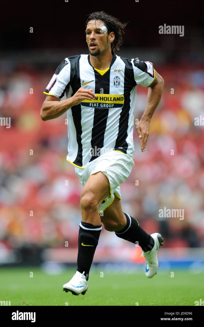 CARVALHO DE OLIVERA AMAURI JUVENTUS EMIRATES STADIUM LONDON ENGLAND 03 August 2008 - Stock Image