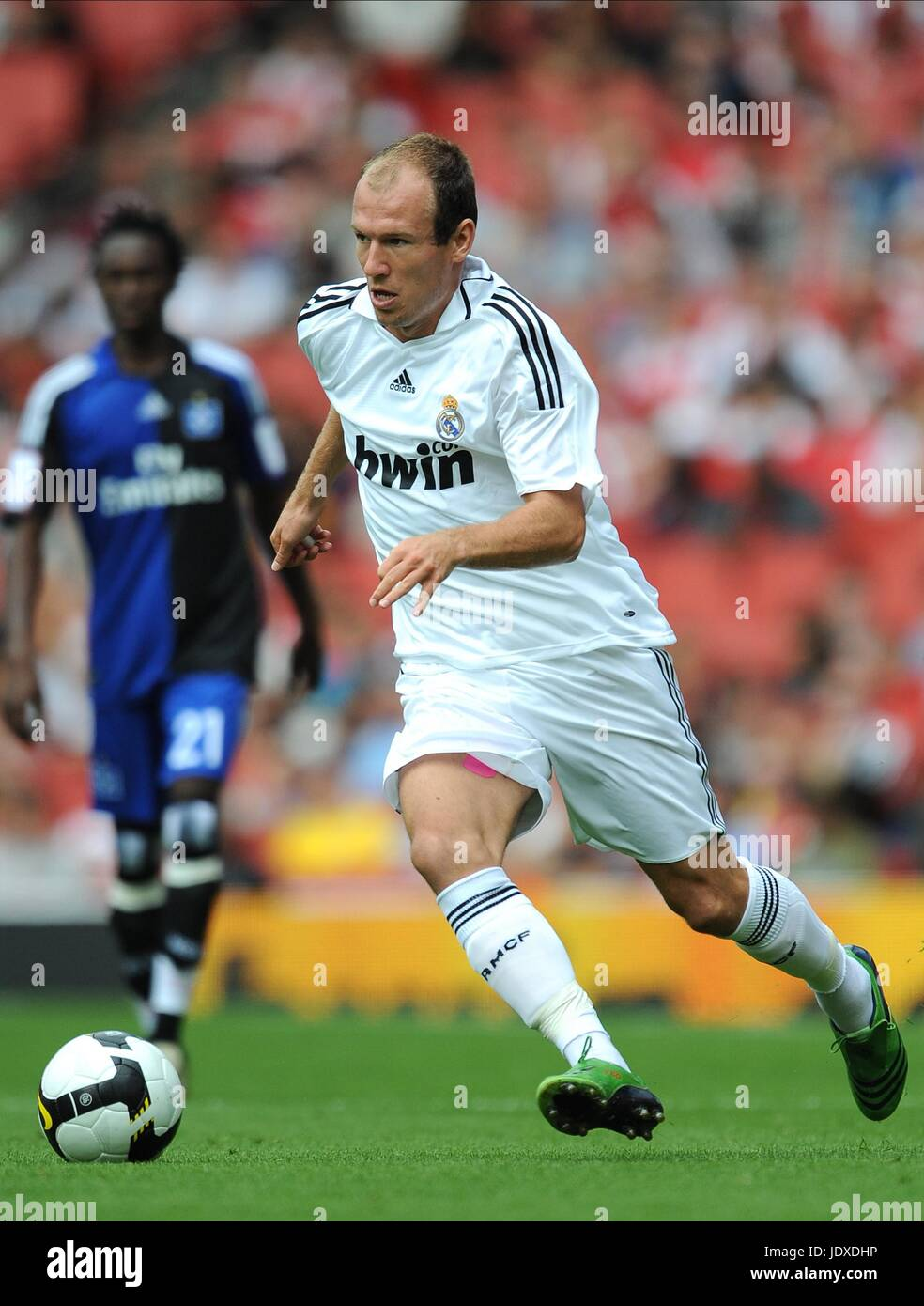 low priced eb33c 17a90 ARJEN ROBBEN REAL MADRID EMIRATES STADIUM LONDON ENGLAND 02 ...