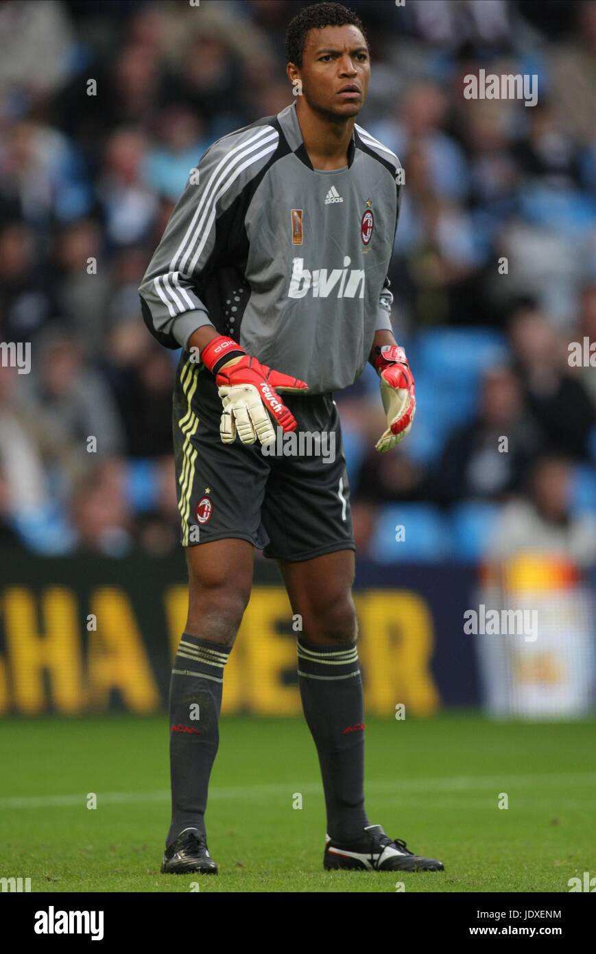 Nelson Dida Ac Milan City Of Manchester Stadium Manchester England 09 Stock Photo Alamy