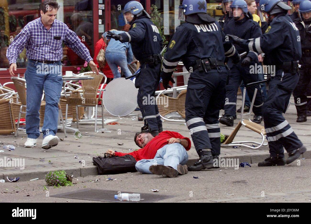 2000 UEFA Cup Final riots